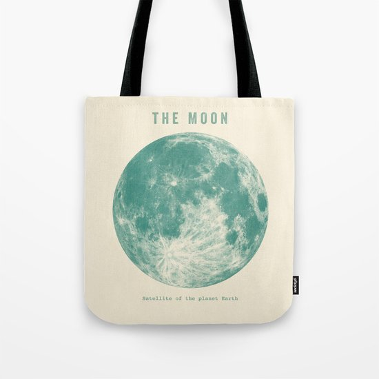 Satellite of the planet Earth  Tote Bag