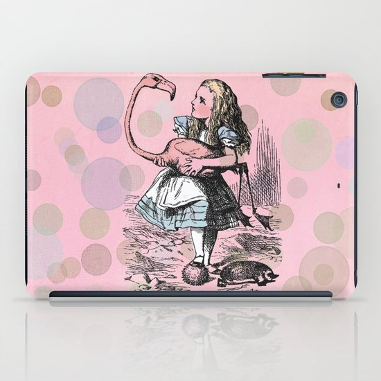 Alice plays Croquet iPad Case