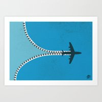 Unzip The Sky Art Print