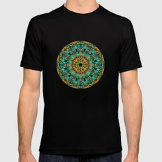 Kaleidoscope SMALL Mens Fitted Tee Black