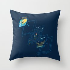 Blueprint Waka-Waka Throw Pillow