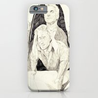 iPhone & iPod Case featuring Killer twin peaks by withapencilinhand