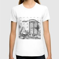 Unicorn House Womens Fitted Tee White SMALL