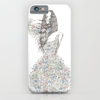 iPhone & iPod Case featuring Flower Girl - pattern by Smog
