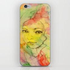 Rainbow romance iPhone & iPod Skin