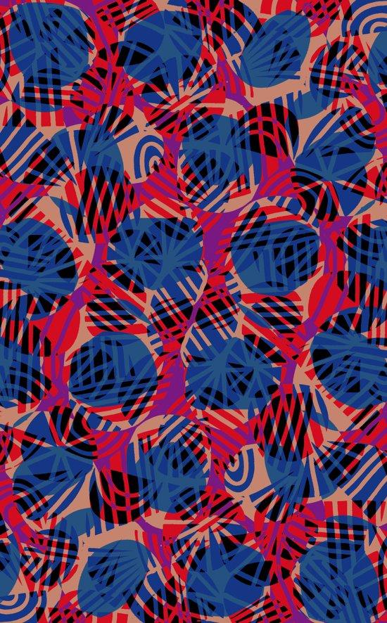 Scribble pattern. Art Print
