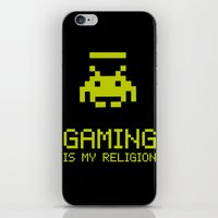 Gaming Is My Religion iPhone & iPod Skin