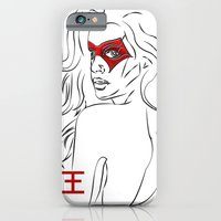 Masked Woman iPhone 6 Slim Case