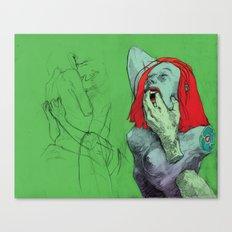 Pull Canvas Print