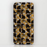 scribble (yellow) iPhone & iPod Skin