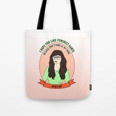 Jessica Day / New Girl Print Tote Bag