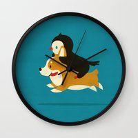 Like The Wind Wall Clock