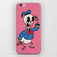 Donald Death iPhone & iPod Skin