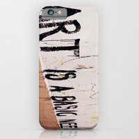 Art Is A Basic Need iPhone 6 Slim Case