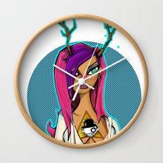 Urbnpop Ultra Violence  Wall Clock