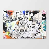 Sugar Monsters Canvas Print
