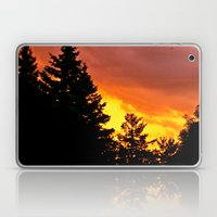 Sunset Pines Laptop & iPad Skin
