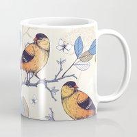 Birdie Pattern Mug