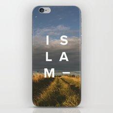 Islam- Poster iPhone & iPod Skin
