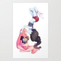 Smoky Art Print