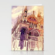 Stationery Cards featuring Venezia by Takmaj