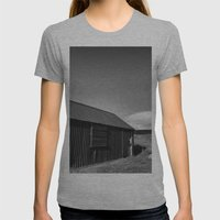 Glen Lyon Womens Fitted Tee Athletic Grey SMALL