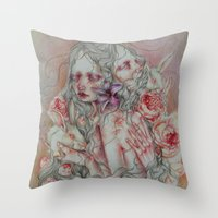 Lovely Skin Throw Pillow