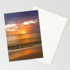 Sunset on the Beach Stationery Cards