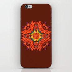 red round accumulation iPhone & iPod Skin