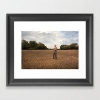 Farmer 2 Framed Art Print