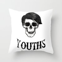 Youths Throw Pillow