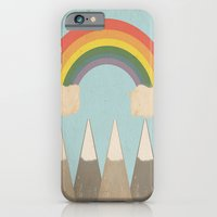 iPhone Cases featuring The View (vintage) by Tammy Kushnir