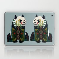 panda silver Laptop & iPad Skin