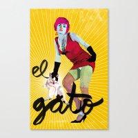 El Gato Canvas Print