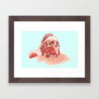 Walking To Dead! Framed Art Print