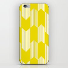 Yellow  Boho Arrows iPhone & iPod Skin