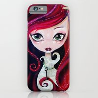 Red Portrait iPhone 6 Slim Case