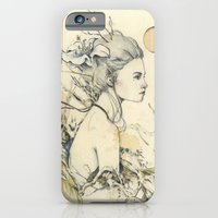 iPhone & iPod Case featuring Nostalgia Series 1/2 by Sasita Samarnpharb