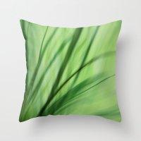 Windblown Throw Pillow