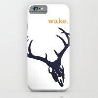 WAKE - SKULL (WHITE) iPhone 6 Slim Case