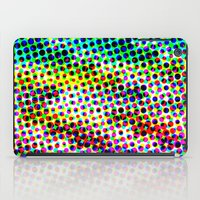 Halftone Color Chart iPad Case