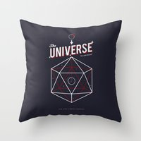 Another Universe Throw Pillow