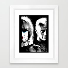 Blade Runner Nexus 6 Framed Art Print