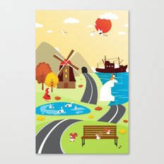 Planet Life Canvas Print