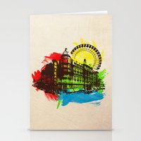 chicago Stationery Cards featuring Chicago by Badamg