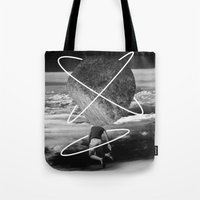 Tote Bag featuring rock head by Panic Junkie
