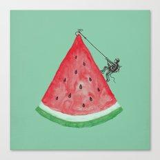 Summer Climb Canvas Print
