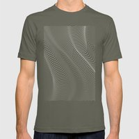 Minimal Curves II Mens Fitted Tee Lieutenant SMALL
