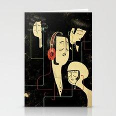 乐 Music Lovers Stationery Cards