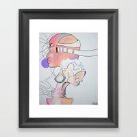 Pastel Love Framed Art Print